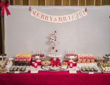 Holiday Party Sweet Table